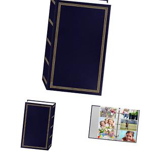 3-Ring Photo Album 504 Pockets Hold 4x6 Photos, Navy Blue