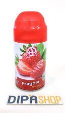 Deodorante Per Ambiente Air Chic Profumo Ricarica Fragranza Fragola 250ml moc