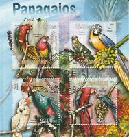 Papagei Mosambik 2013 gestempelt 1481