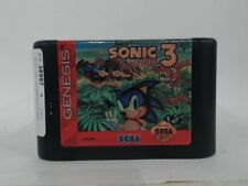 SONIC THE HEDGEHOG 3 Sega Genesis Scratched