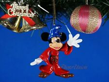 *K1056 Decoration Xmas Ornament Home Party Decor Mickey Mouse Fantasia Sorcerer