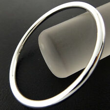 A792 GENUINE REAL 925 STERLING SILVER S/F SOLID GIRLS KIDS CUFF BANGLE BRACELET