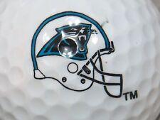 (1) CAROLINA PANTERS NFL FOOTBALL LOGO GOLF BALL