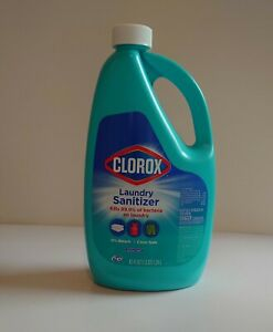 Clorox Laundry Sanitzer 42oz Color Safe No Bleach Kills 99.9% of Bacteria New!