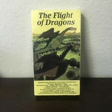 The Flight Of Dragons VHS Award Winner Animated Tale For The Ages New Sealed