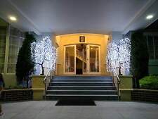 180cm White LED Willow Tree