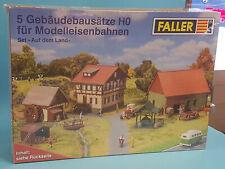 Faller H0 5 Gebäudebausätze