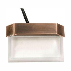 Hampton Bay Low Voltage Antique Brass LED Step Deck Light 1001 492 880