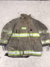 Firefighter Globe Turnout Bunker Coat 42x35 G Xtreme No Cut Out 2012