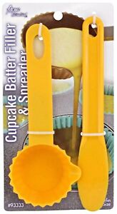 Acme Cupcake Batter Filler & Spreader Recipe Included Two Pieces Muffin Size