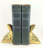 1st Edition Douglas Mawson Home Of The Blizzard Australian Antarctic Expedition