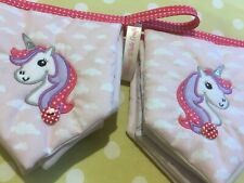 Unicorn Bunting Personalised Any Name Girls Luxury Room Banner Price For 8 Flags