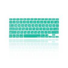 "Arabic / English AQUA Silicone Keyboard Cover Skin for Macbook Pro 13"" 15"" 17"""