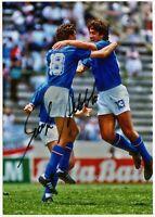 Foto Autografata Calcio Alessandro Altobelli Signed Mondiali 1982 Nazionale