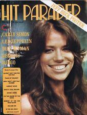 Original Vintage October 1974 Hit Parader Magazine Carly Simon Led Zeppelin