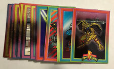 1994 Mighty Morphin Power Rangers Series 1 Foil Subset You Pick All $.99 Each