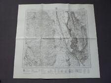 Landkarte Meßtischblatt 7826 Kirchberg a.d. Iller, Unterdettingen, Wain, 1945