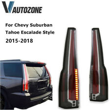 LED Tail Lights Rear Lamp PAIR For Chevy Suburban Tahoe Escalade Style 2015-2018