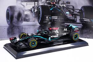 Modellino Lewis Hamilton Mercedes F1 W11 2020 Le grandi F1 Scala 1:24 Die cast