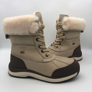 UGG SAND ADIRONDACK III WATERPROOF SNOW WINTER BOOTS, WOMEN US -NIB- W