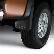 NEW OEM GM Mud Flaps Splash Guards Set w/ Logo 12499694 Chevy Colorado 2004-2012