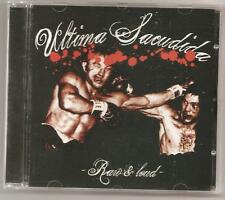 "Ultima sacudida ""raw + Loud"" CD spain oi streetpunk discipline streetcore punk"