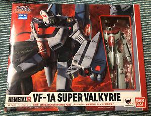 Macross - Bandai VF - 1A Super Valkyrie Figure - Hi - Metal - In Box