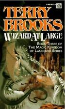 Wizard at Large by Terry Brooks (Magic Kingdom of Landover #3) (1989 PB) CC1247