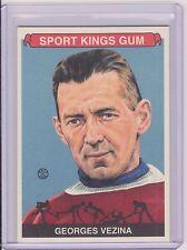 AWESOME 2008 SPORT KINGS GEORGES VEZINA CARD #87 ~ HOCKEY LEGEND