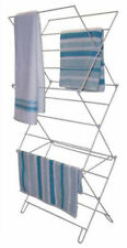 3 TIER CONCERTINA AIRER CLOTHES TOWEL LAUNDRY INDOOR OUTDOOR FOLDING WIRE DRYER