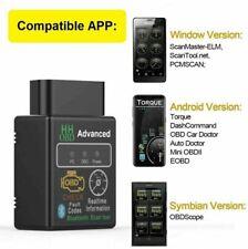 ELM 327 OBD2 Car Bluetooth Code Scanner Reader Automotive Diagnostic Tool OBDII