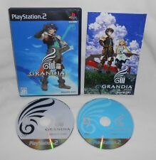 PS2 Playstation 2 GRANDIA 2-Disc Game Complete Japan Only Import RARE