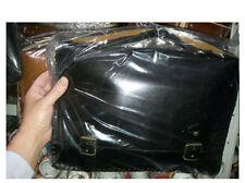 tracolla uomo borsa nera 40x28cm larga 9cm  vero cuoio  cartella  tipo 24 ore