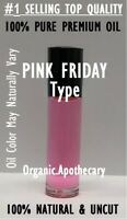 Nicki Minaj Pink Friday Type Perfume Body Oil for Women 0.3oz 10ml Roll On New