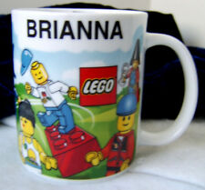LEGO Legoland Mall of America Personalized Name Brianna Coffee Cup Mug