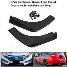 2X Universal For Auto Front Rear Bumper Lip Splitters Winglets Canards 30''x4''
