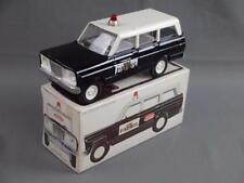 Vintage 1960's  Mini Tonka Hi-Way Patrol Police Jeep w/ Box #1064