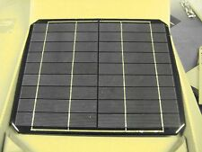 12 watt 6v solar panel RV or boat, robots,projects, mono solar cells battery chg