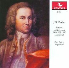 New: : Bach: Partitas for Keyboard, BWV 825-830 (complete)  Audio CD