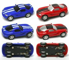 2005 JWL HO 1/64ish American Release Dodge Viper V12 Matched Pair Slot Race Cars