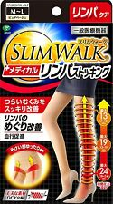 SLIM WALK Medical Lymph Pantyhoses M-L Size Pure-Beige