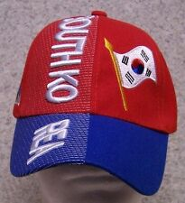 Embroidered Baseball Cap International South Korea NEW 1 hat size fits all