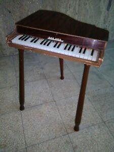 giocattolo di legno BONTEMPI vintage anni 50 - pianoforte