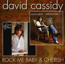 David Cassidy Cherish/Rock Me Baby Remastered CD NEW