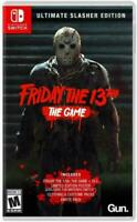 Friday the 13th: The Game Ultimate Slasher Edition - Nintendo Switch Brand New