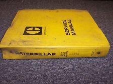 Caterpillar No. 12 14 Diesel Motor Grader Workshop Shop Service Repair Manual