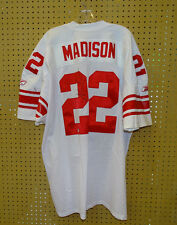 SAM MADISON #22 Giants AUTOGRAPH JERSEY Team Issued NFL Lic. EVENT JSY w/ COA
