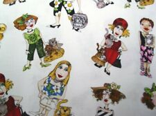 """Vicky's Private Stash PRE-WASHED 28"""" Length Loralie Fabric Cat Ladies 2005"""