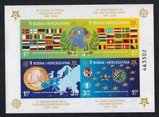 Bosnia (Muslim) 2005 50th Anniversary Europa S/S #529e Imperf NH (Sc $30 US)