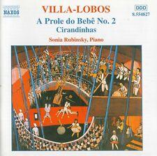 Villa-Lobos - A Prole do Bebê · Cirandinhas / Sonia Rubinsky
